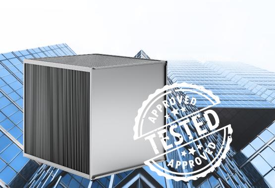Heatex Plattenwärmetauscher sind geprüft und zugelassen