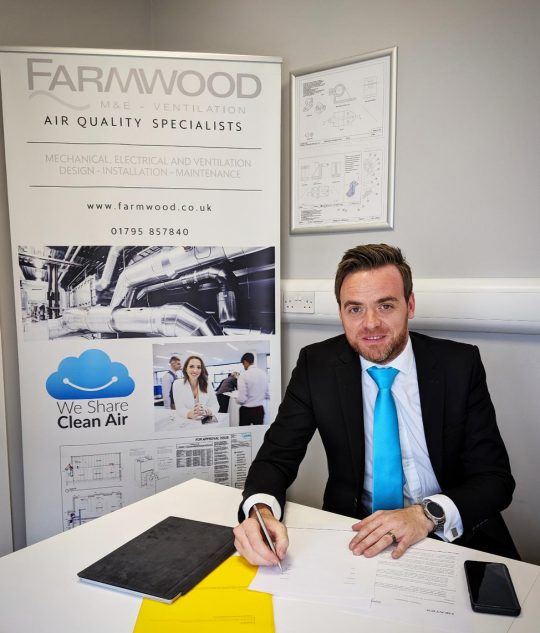Heatex signs with Farmwood UK