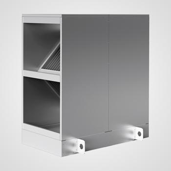 Heatex Modell CS Gehäuse