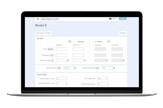 Heatex Select Online